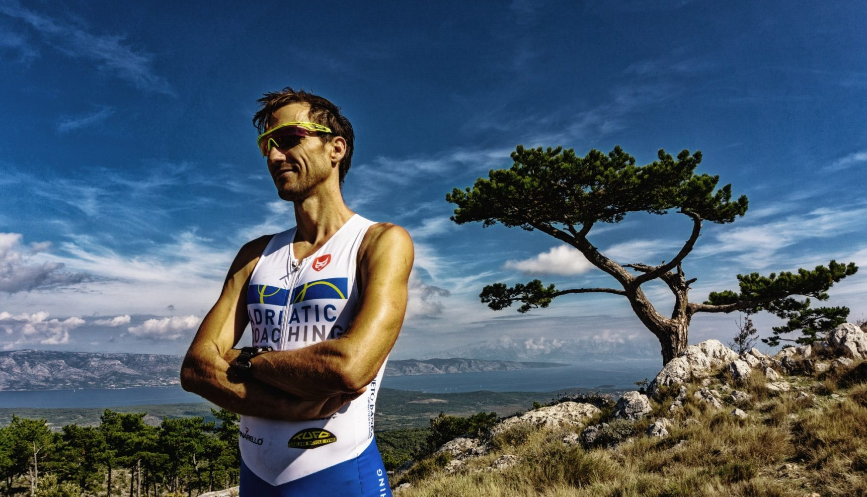 dejan patrcevic is official ambasador I FEEL SLOVENIA Ironman70.3 Slovenian Istria