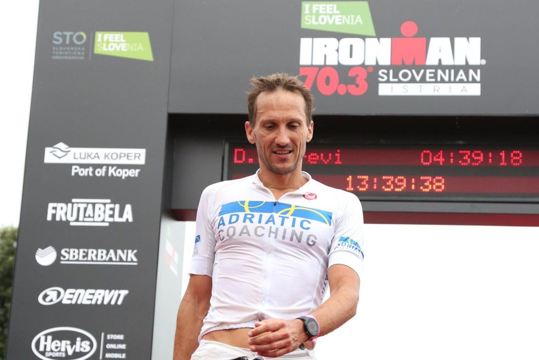 Ambassador of Ironman 70.3 Slovenian Istria 2020 Dejan Patrcevic